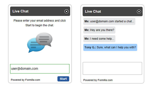 google play support live chat