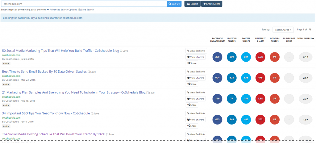 Check BuzzSumo for Guest Posting topic ideas