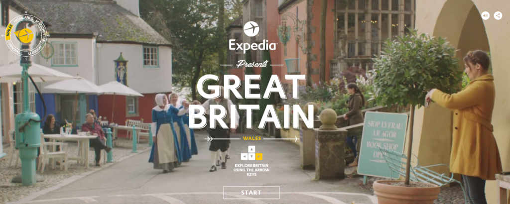 Expedia's award-winning site