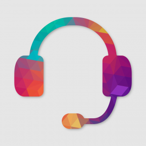 customer support headset image