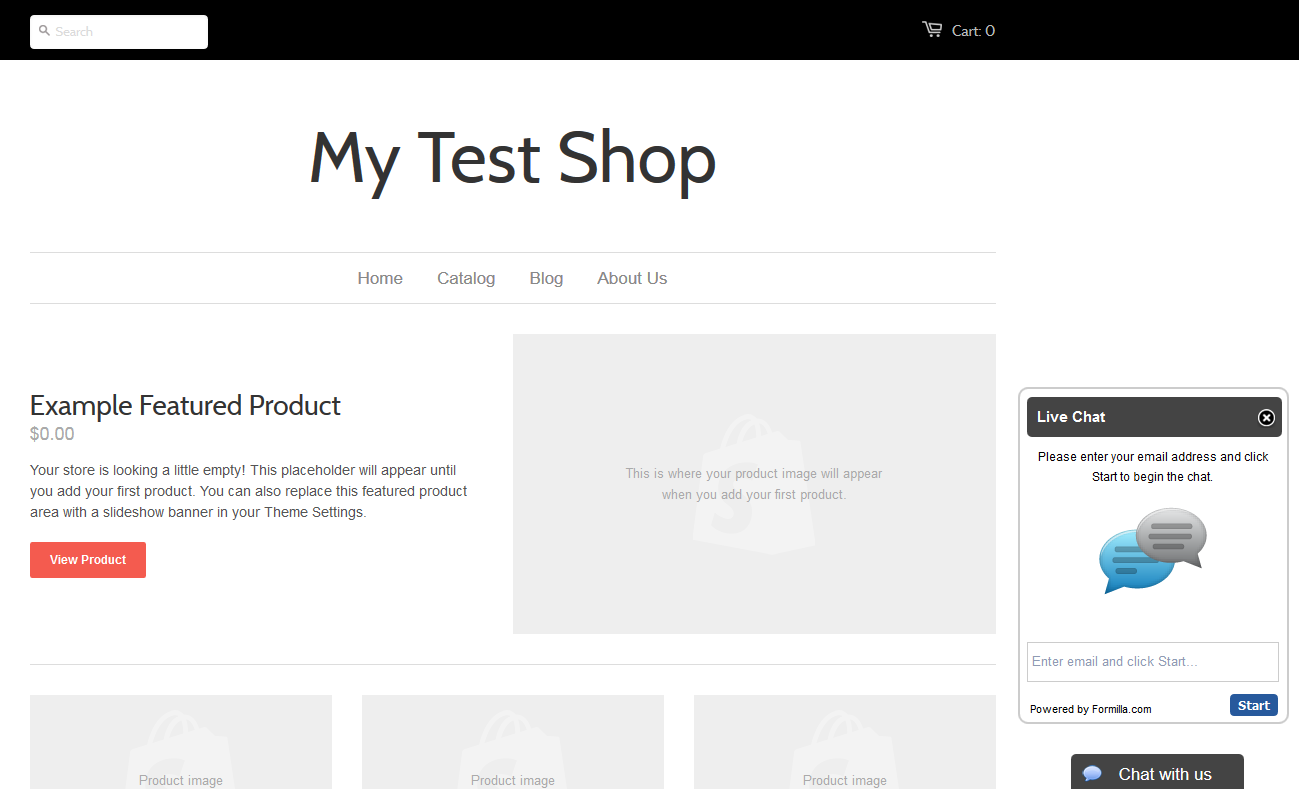 Shopify live chat final preview